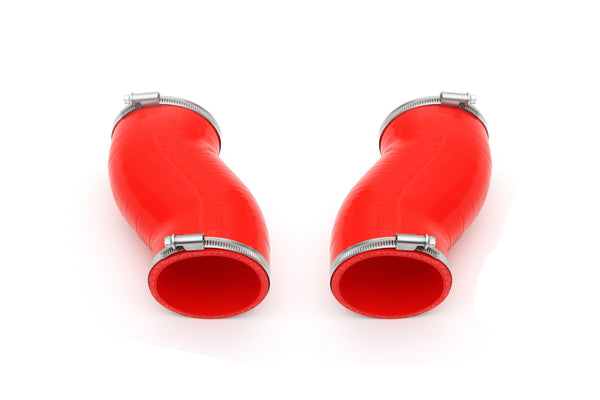 2004-2008 Lamborghini Gallardo Red Silicone Intake Hoses. Sold as Set