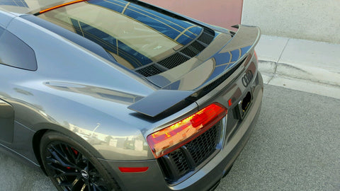 Factory Style GT Wing (1PC) Carbon Fiber / Audi R8 Coupe 2017, 2018, 2019