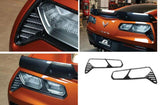 Corvette C7 Rear Taillight Bezzels / Carbon Fiber For Models Z06 Coupe, Z06 Convertible, 2 Door Coupe, 2 Door Convertible