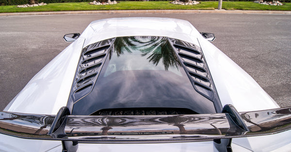Huracan Engine Vents (2PC) / Carbon Fiber (Factory Style)