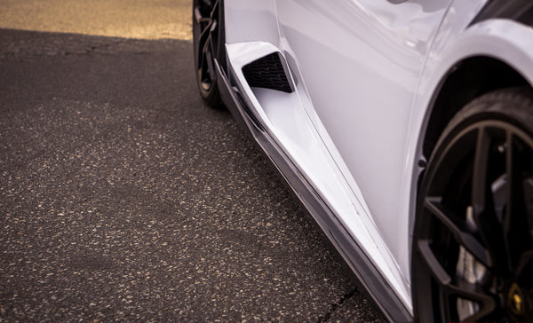 Huracan Coupe Side Skirts (2PC) / Carbon Fiber