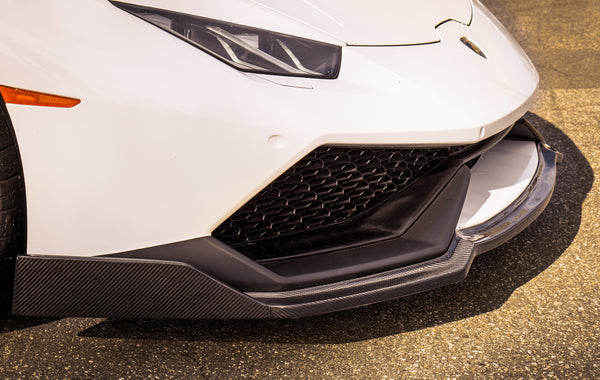 LP 610-4 Huracan Corsa Front Splitter (1PC) / Carbon Fiber (16 Screws)