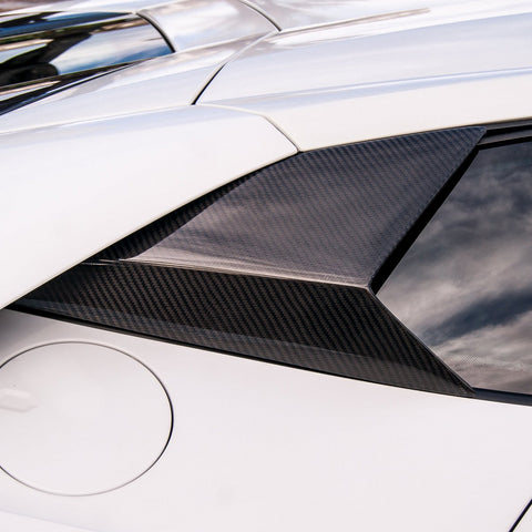 Huracan Side Window Vents (2PC) / Carbon Fiber