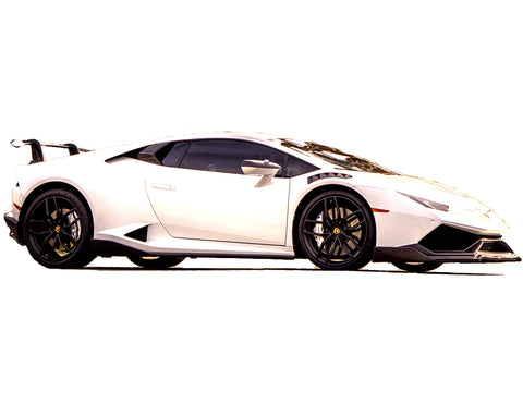 LP610 Spyder All Inclusive 7-Piece Corsa Carbon Fiber Pieces / Huracan