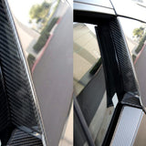 Audi R8 2007-2015 Carbon Fiber Door Trim for Blades (2PC)