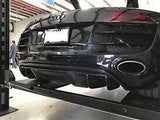Audi R8 Carbon Fiber Rear Diffuser With Fins - (1PC) 2009-2012