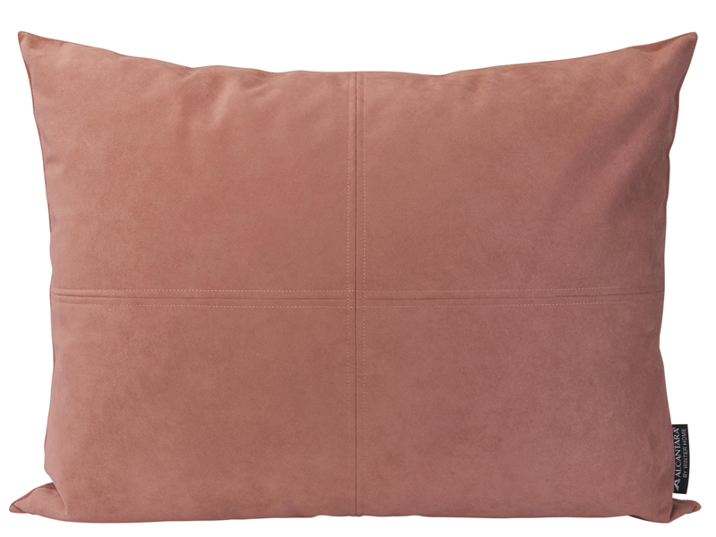 Winter Home Rose Tinted Alcantara Alcantara Coussin Winter Home Cushion Rose Tinted