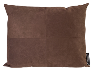 Winter Home Raw Amber Alcantara Alcantara Coussin Winter Home Cushion Raw Amber