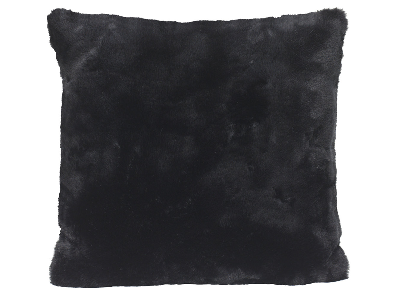 Winter Home Seal Black Coussin Winter Home Seal Cushion Textil