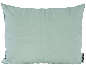 Winter Home Celadon Alcantara Alcantara Celadon Green Coussin Winter Home Cushion