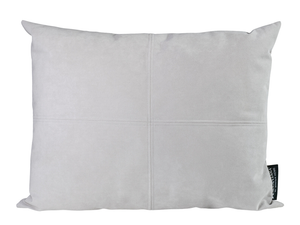 Winter Home Pearl Grey Alcantara Alcantara Coussin Winter Home Cushion Pearl Grey