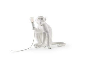 Seletti Monkey Lampe - Sitting Indoor Lampes Luminaires Monkey Lamp Lighting Seletti