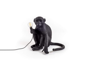 Seletti Monkey Lampe - Sitting Outdoor Lampes Luminaires Monkey Lamp Lighting Seletti