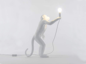 Seletti Monkey Lampe - Debout Indoor Lampes Luminaires Monkey Lamp Lighting Seletti
