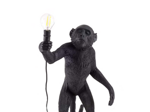 Seletti Monkey Lampe - Debout Outdoor Lampes Luminaires Monkey Lamp Seletti Lighting
