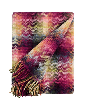 Missoni Fuchsia Geometric Plaid Missoni Plaids Textil