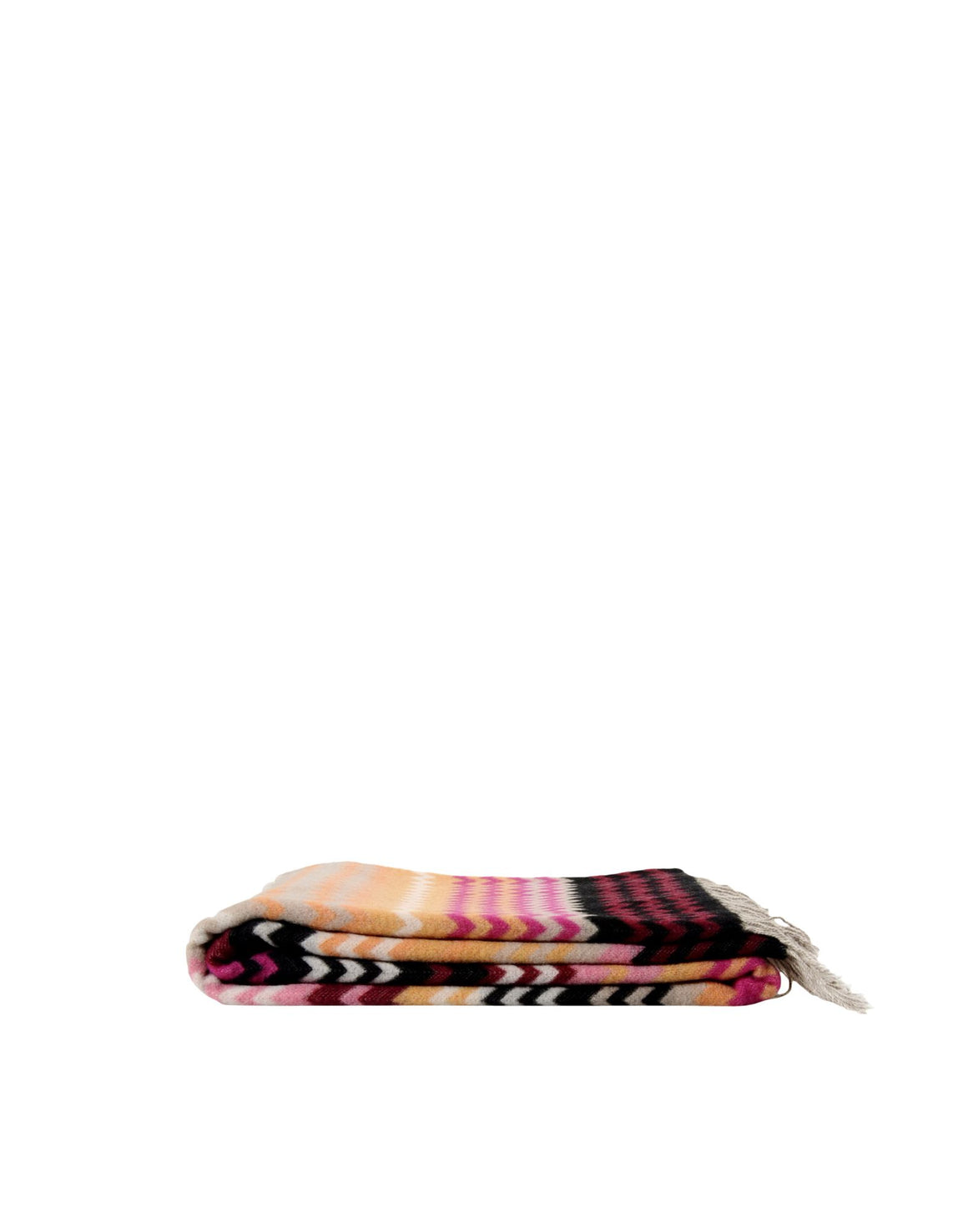 Missoni Peach Zigzag Plaid Missoni Plaids Textil