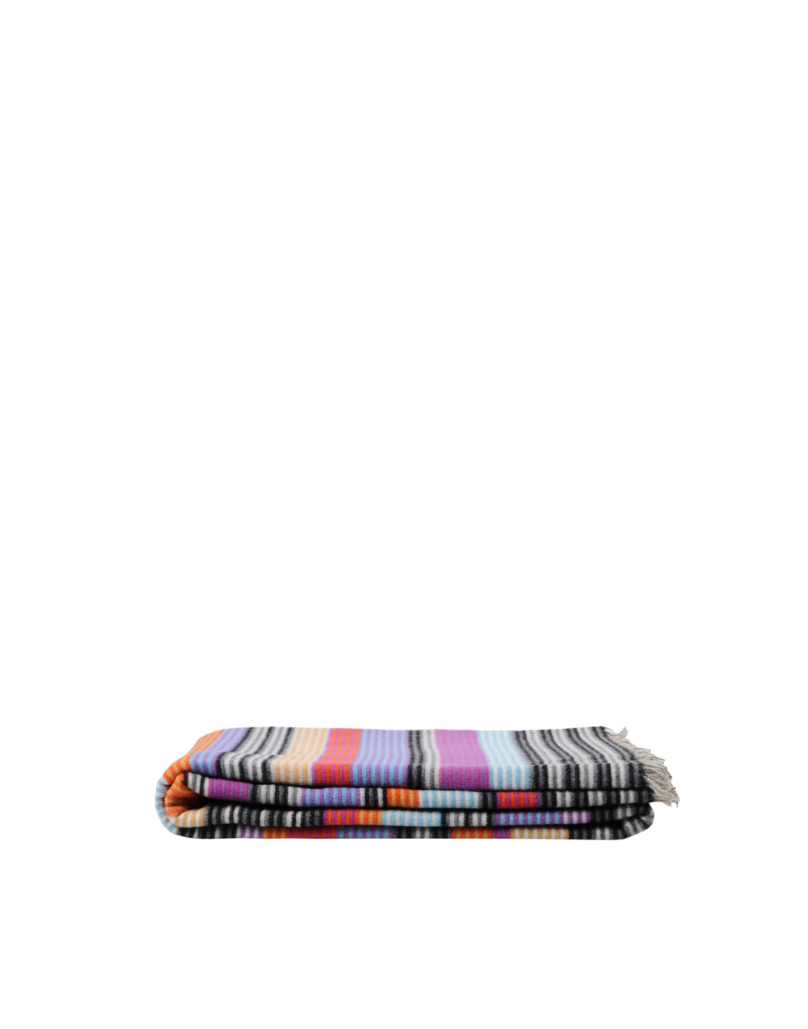 Missoni Purple Stripes Plaid Missoni Plaids Textil