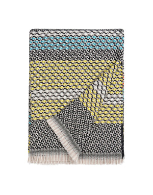 Missoni Steel Grey Plaid Missoni Plaids Textil