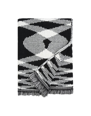 Missoni Black & White Plaid Missoni Plaids Textil