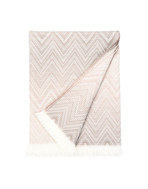 Missoni Beige Plaid Missoni Plaids Textil