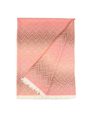 Missoni Salmon Pink Plaid Missoni Plaids Textil