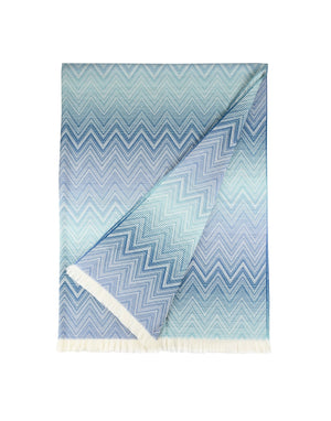 Missoni Blue Plaid Missoni Plaids Textil