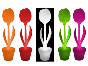 Myyour Tulip S-Xl Cadeaux Myyour Objects_Lumineux_Outdoor Outdoor Tulip