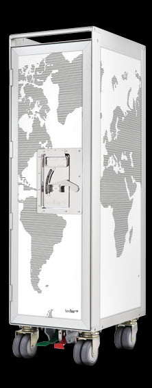 Bordbar Bordbar Worldmap White Accessoire-Decoration Bordbar Wordmap