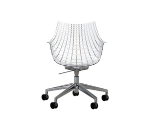 Driade Meridiana Sur Roulettes Chaise Chaises_Tabourets Driade Meridiana