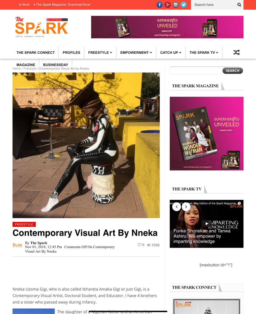 Contemporary Visual Art By Nneka