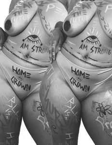 HOMEGROWN: Tiyanna Morehead Body Art Shot by Zachary Bxllion