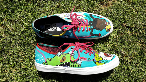 Hand Painted 'Rugrats' Vans