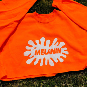 Hand Painted Melanin Crew Neck