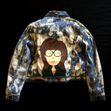 SICK.SAD.WORLD - Hand Painted Daria Denim Jacket