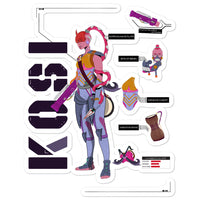 KOSI Bubble-free stickers