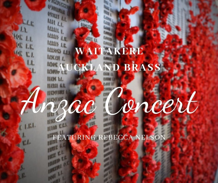 Anzac Concert with Rebecca Nelson