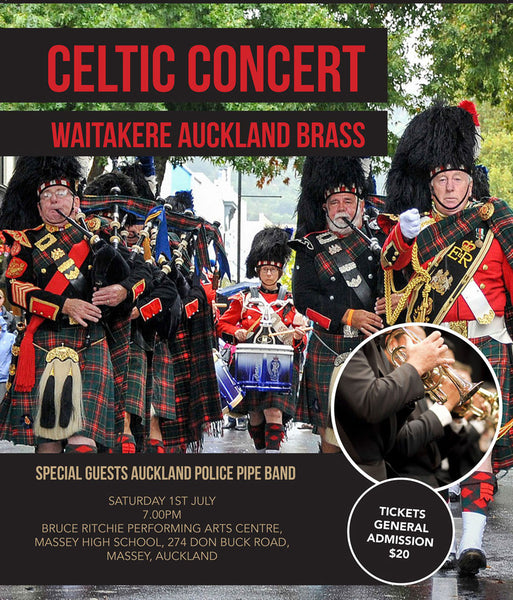 Celtic Concert - Auckland Police Pipe Band