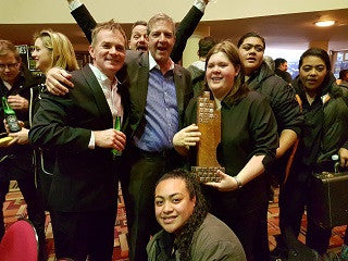 Waitakere 2016 Auckland Band Contest Champions