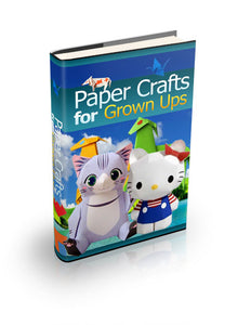 Paper Crafts For Grown Ups  - eBook Bundle