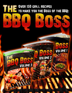 The BBQ Boss - 3 for 1 eBook Bundle!