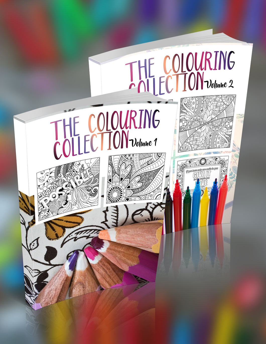 The Colouring Collection Vol 1+2 - Super Bundle Sale!