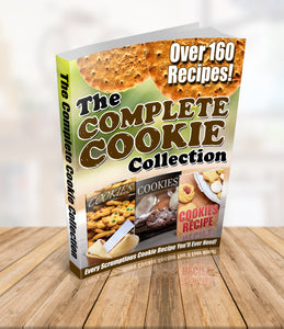 The Complete Cookie Collection - eBook Sale - 160+ Recipes!