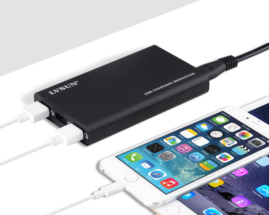 40W QC3.0 USB Charger for laptop,tablet,smart phone,power bank, and usb  USB electronic devices