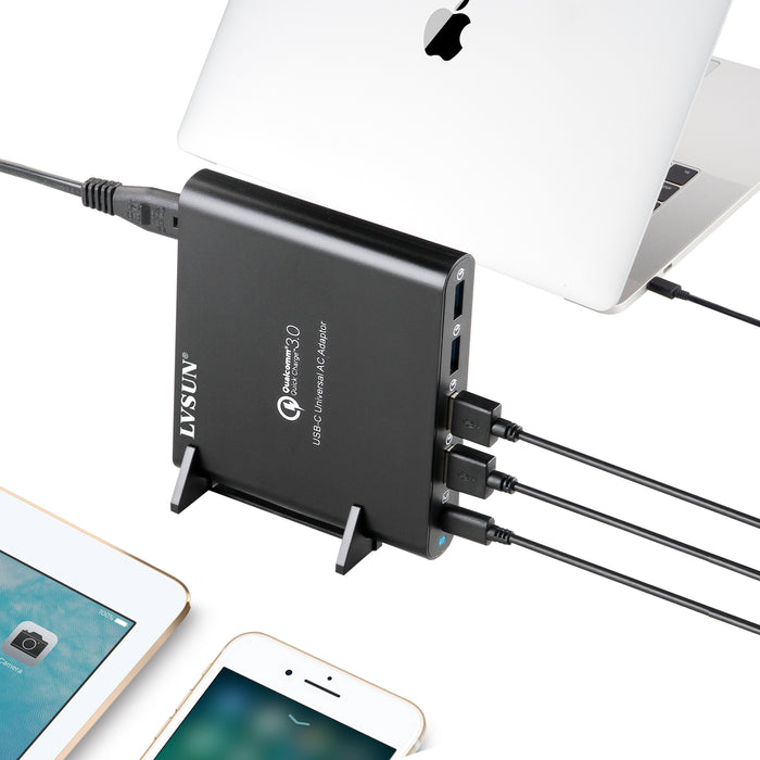 80W USB Type-C Hub Laptop Universal Charger