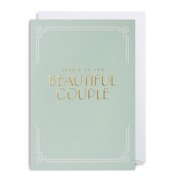 BEAUTIFUL COUPLE CARD