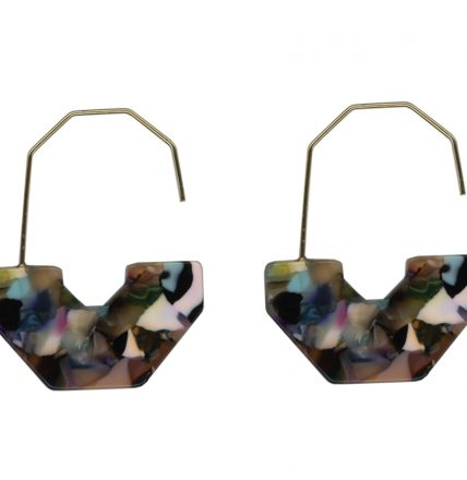 EMMA ABSTRACT EARRINGS