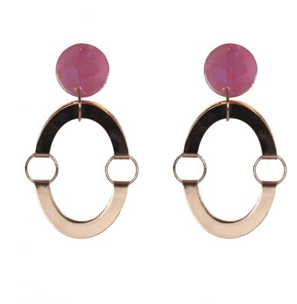 EVA EARRINGS - ROSE GOLD