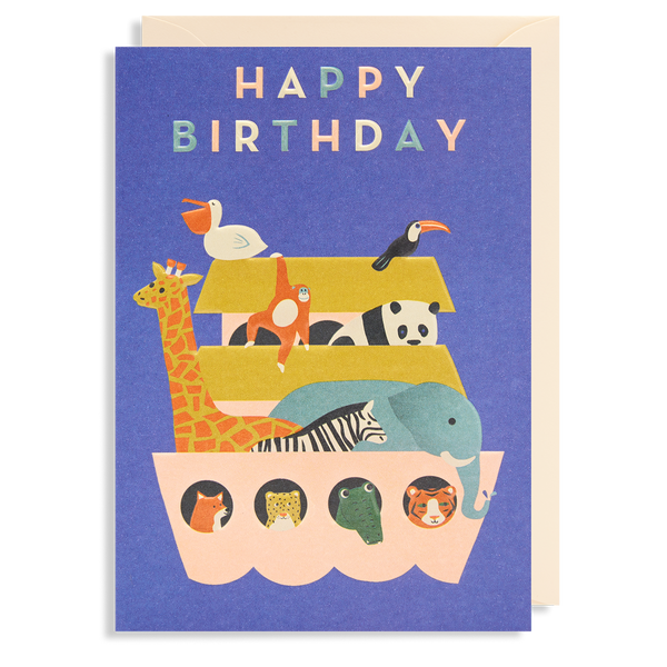 ANIMAL ARK BIRTHDAY CARD