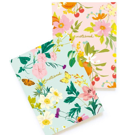 FLORAL TWIN SET NOTEBOOK